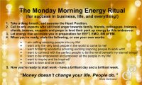The Monday Morning Energy Ritual For Success In Business, Love & Life